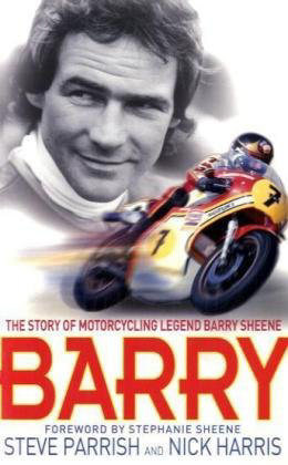 Barry Sheene book, by Steve Parrish... special autograph an dbook signing in Bournemouth, 7th October 2014